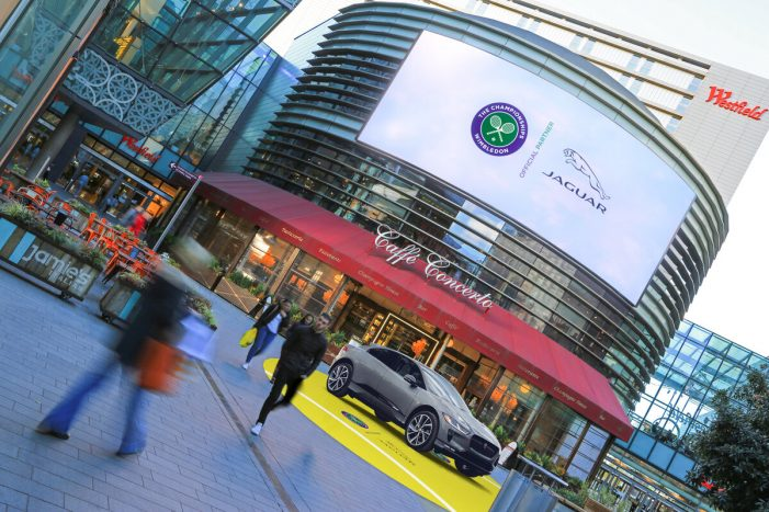 Jaguar serves Wimbledon to the UK with first of a kind, OOH content sponsorship deal