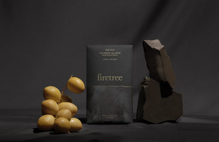 Premium Volcanic Chocolate brand Firetree Launches at Taste of London with Branding by Leagas Delaney