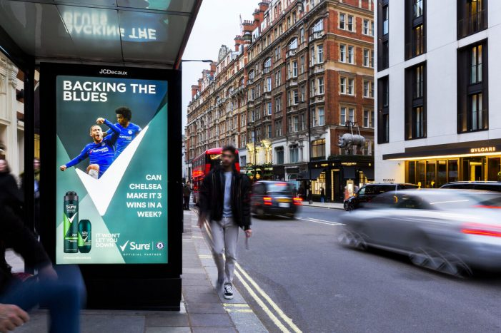Sure Men, Kinetic Worldwide and DOOH.com get dynamic for football fans