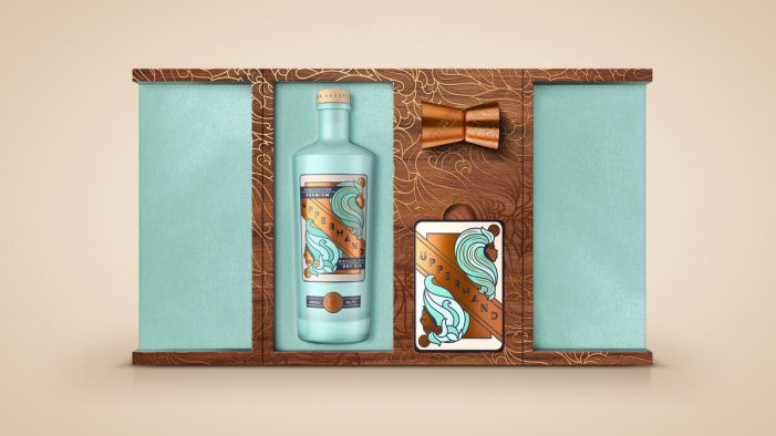 Upperhand Gin Looks to Defy the Odds with New Branding by BrandOpus