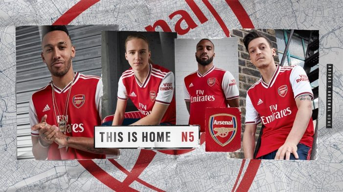 Arsenal channel the spirit of North London in film promoting their new home jersey by Adidas