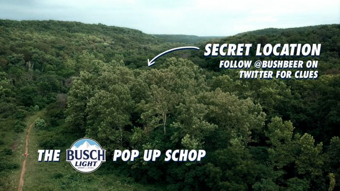 Busch Beer Teams with Lucky Generals to Unveil Hidden 'Pop-up Schop'
