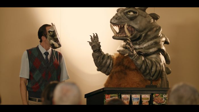 NISSIN hires Japanese TV monster for new campaign by Dentsu Brazil