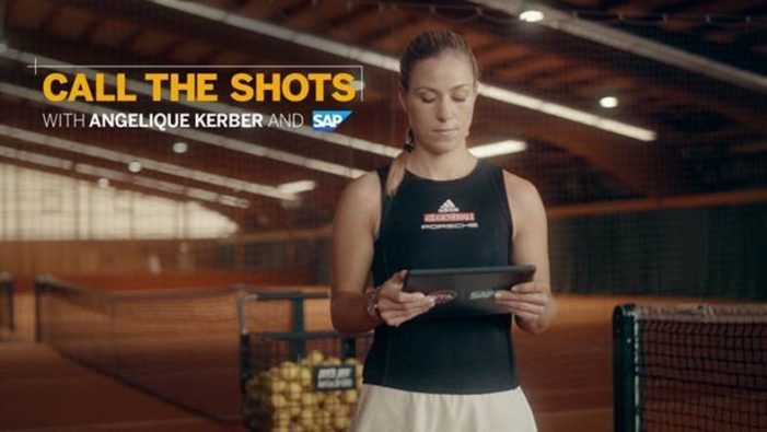 "Wimbledon champ Angie Kerber teams with SAP to launch ""Call the Shots"" online game for fans"