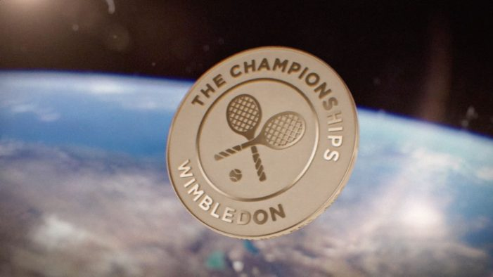 Wimbledon marks 2019's finals weekend with a space odyssey via McCann London