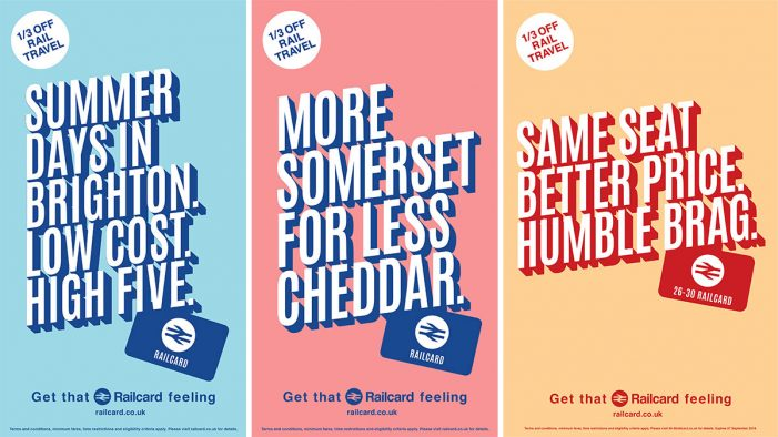 National Rail launches new 'Get That Railcard Feeling' campaign by The Community