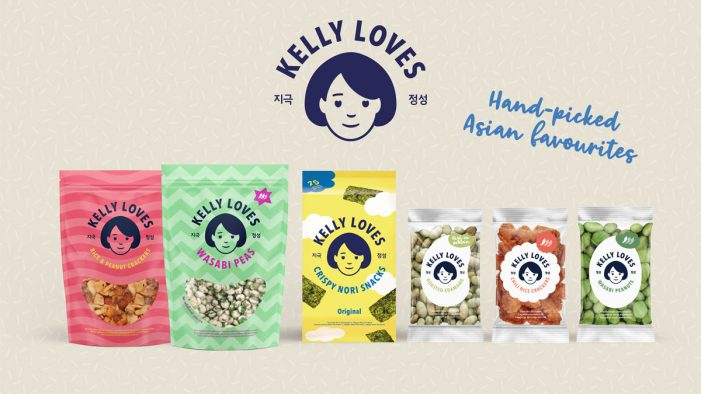 Without creates cross-cultural brand identity for new Asian food line Kelly Loves