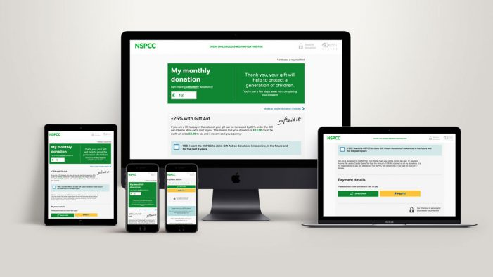 NSPCC launches innovative digital platform for regular giving