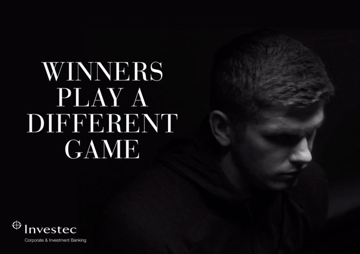 Leagas Delaney and Investec CIB launch new global campaign featuring rugby player, Owen Farrell