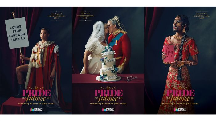 "Pride in London serves historical realness with official launch of ""Pride Jubilee"" marketing campaign"