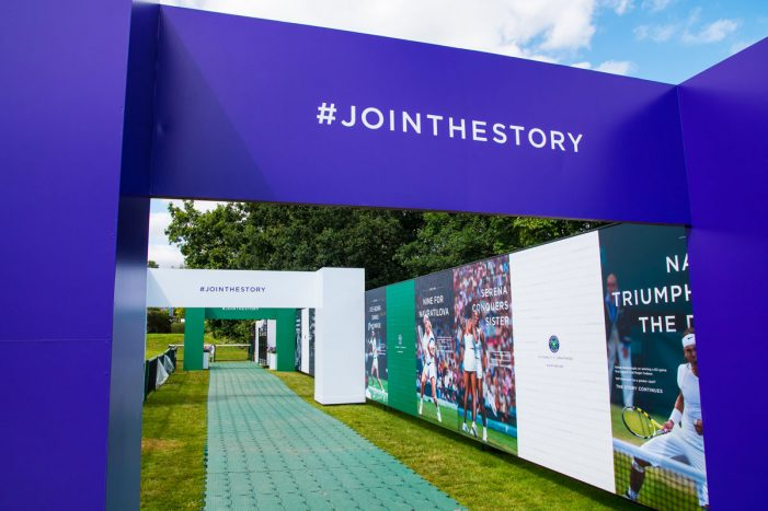 Space campaign shows how the Wimbledon story continues