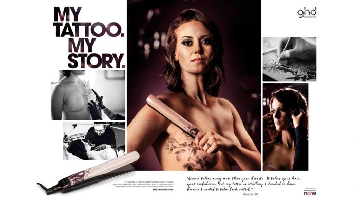 Southpaw launches ghd's global 'Pink' campaign for cancer charities worldwide