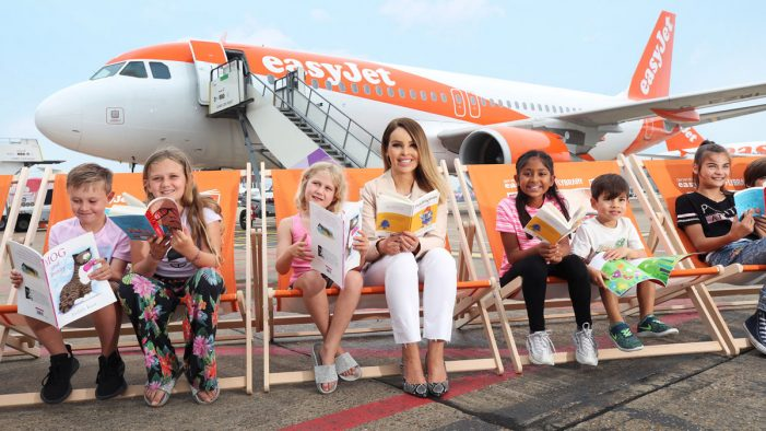 easyJet and Harper Collins team to deliver flying libraries initiative for 20 million passengers this summer