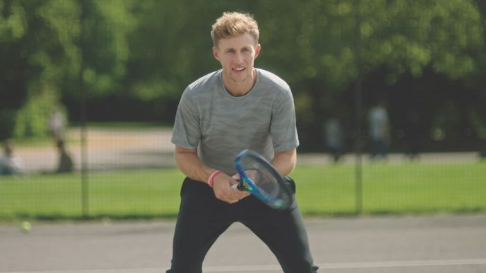 Joe Root tries his hand at tennis in Vitality's new idents by SNAP London