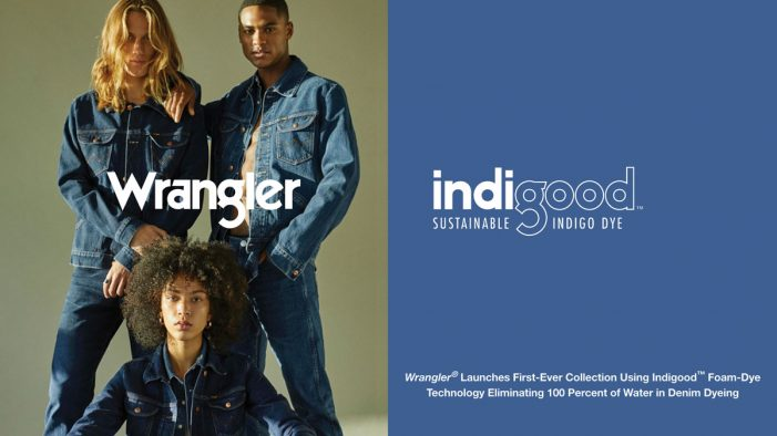 Nude creates branding for Wrangler Indigood – the brand's most sustainable line of denim products