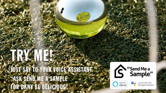 DKNY Fragrances partners with Send Me a Sample to reach younger generation via voice