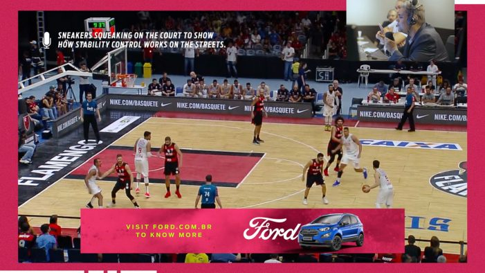 Ford Brazil presents the first basketball game without shoe squeaking