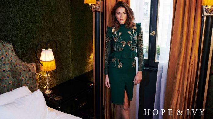Hope & Ivy invites Media Agency Group to support their blossoming floral-inspired fashion brand