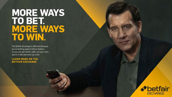 Betfair launches new campaign featuring Clive Owen to promote Exchange product