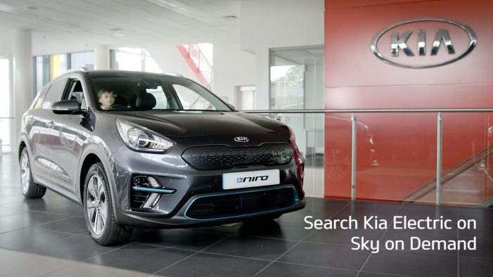 Kia and Sky Media partner to drive awareness of electric car range