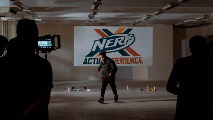 Electric Lime Films' teaser generates buzz for NERF Action Experience Centre launch in Singapore