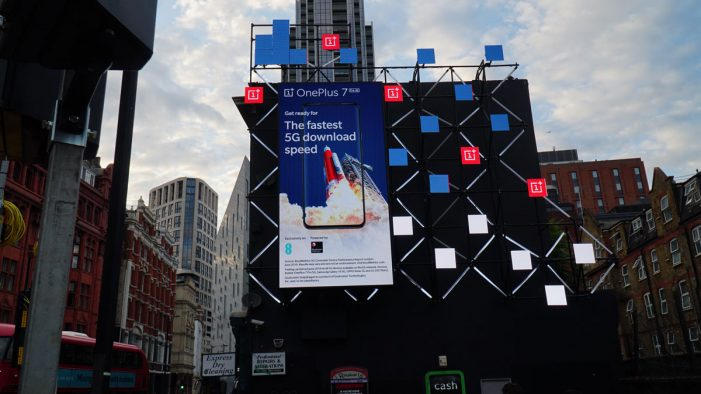 OnePlus and AnalogFolk launch new DOOH campaign across iconic London sites