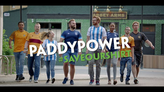Paddy Power continue their mission to 'Save Our Shirt' with new TV campaign