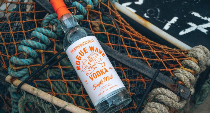 LOVE unveil new vodka brand for BrewDog – Rogue Wave – a tribute to founder's one-armed cousin