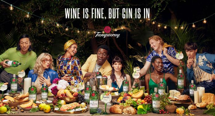The 'GIN IS IN' as Tanqueray Unveils New Campaign by Yard NYC