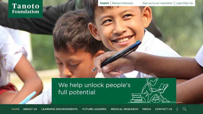 Crowd delivers a new website for South East Asian Educational Foundation