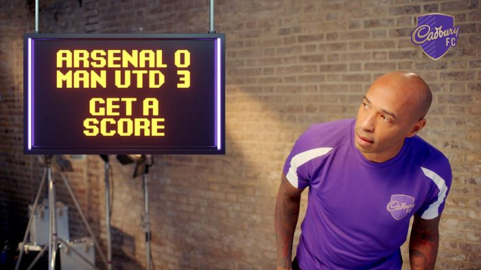 Cadbury partners with Thierry Henry for return of Match & Win promotion