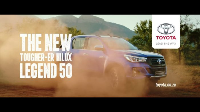 Toyota Hilux turns 50, celebrates with everyday legends in new campaign from FCB Joburg