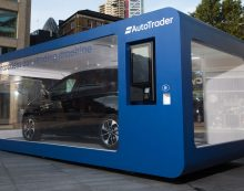 World first contactless car vending machine launched in the UK by Auto Trader