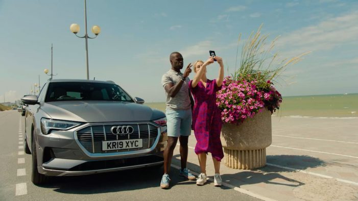 Audi UK teams with Georgie Barrat & Ortis Deley to debunk common electric vehicle myths in the Audi e-tron