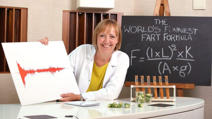 Beano unveils the world's funniest fart according to science