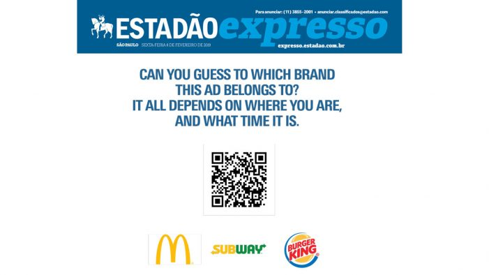 Isobar and leading Brazilian newspaper Estadão launch the first programmatic digital ad in print