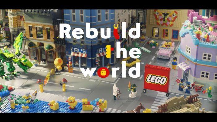 The LEGO Group launches new global campaign with BETC