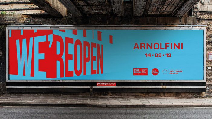 Taxi Studio creates visually vibrant campaign for Arnolfini