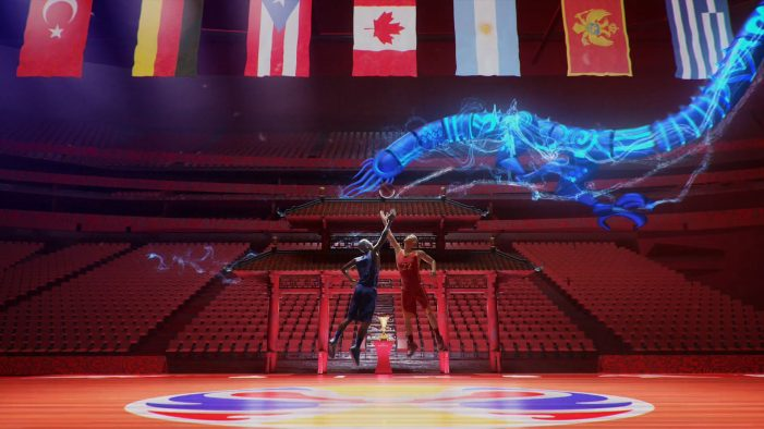 Found Studio release broadcast project for FIBA Basketball World Cup, in partnership with DAZN Creative
