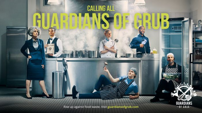 Top chefs 'Stand Up For Food' in month of action as part of Guardians of Grub campaign
