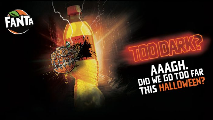 Fanta goes 'Too Dark' with Halloween Snapchat-led campaign