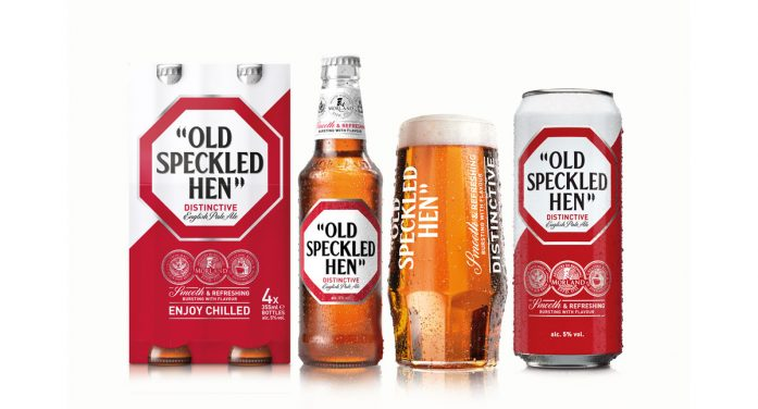 Ziggurat Brands gives Old Speckled Hen a 'refreshing' new look