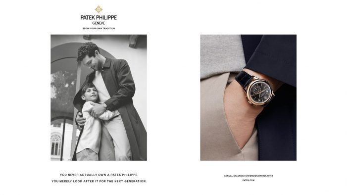 Luxury watch maker Patek Philippe and Leagas Delaney launch new Generations campaign