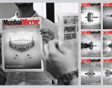 Mumbai Mirror announces launch of video series 'Mumbai Mirrored'; creates innovative jacket for launch day edition