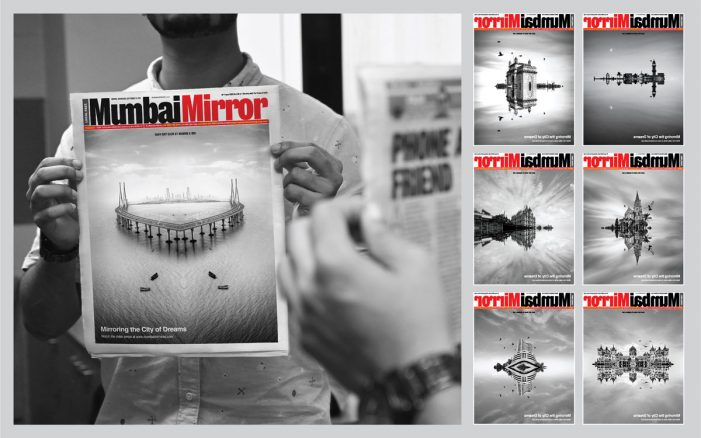 Mumbai Mirror announces launch of video series 'Mumbai Mirrored'; creates innovative jacket for launch day edition