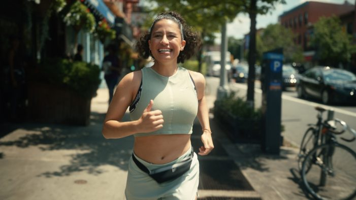 """Ilana Glazer Tracks Down the """"Runner's High"""" in Nike Joyride Campaign Directed by Caviar's Marielle Heller"""
