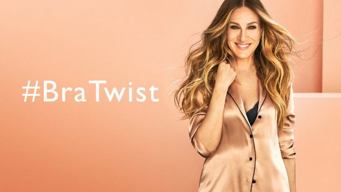 Intimissimi launches the #BraTwist with a fun push and AR experience featuring Sarah Jessica Parker