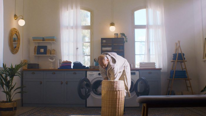 Man Becomes the King of Laundry in Comedic Samsung Campaign
