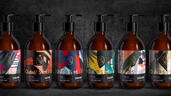 Soapsmith relaunches with luxurious, new branding and packaging crafted by Bulletproof