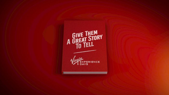 Virgin Experience Days launch first TV campaign by Atomic London